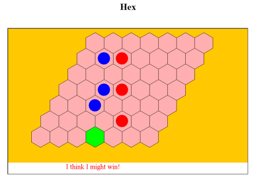 Arthur Vause's online Hex game