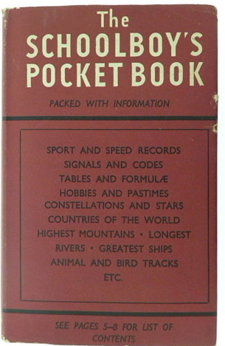 Schoolboy's Pocket Book