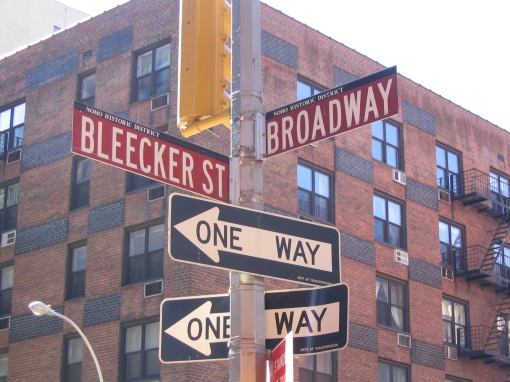 Bleecker St, NYC