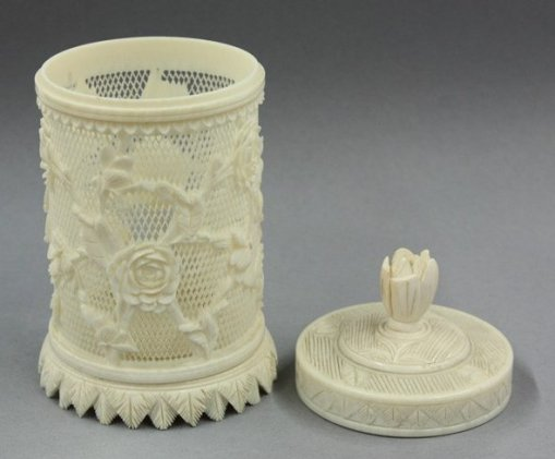 Ivory cricket cage