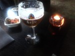Belgian beer in Holland. With free nuts.