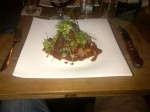 Ah bliss! Calves liver with bacon. Done posh!