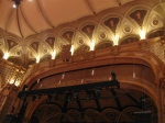 Beautiful alcove above stage