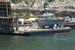 Horseshoe Bay - a boat on a boat.
