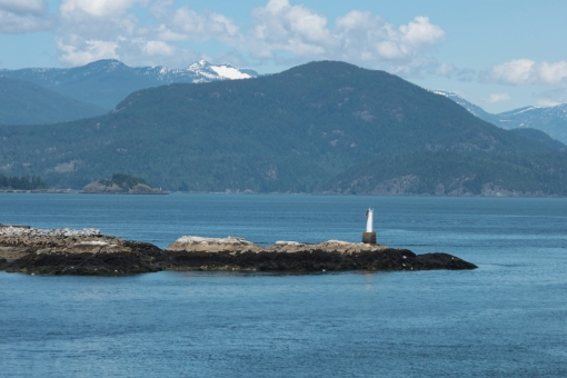 The approach to the harbour, and wonderful BC beyond.