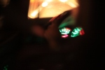Console lights dancing