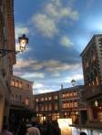 Faux sky in The Venetian