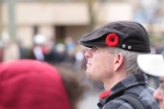 "This onlooker and myself were the only people I noticed removing our hats for ""God Save The Queen"""