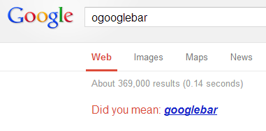 Count of ogooglebar hits on 26th March 2013