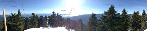 The view from Dam Mountain... with labels