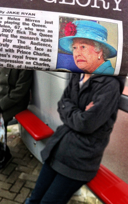 Bored Commuter's Newspaper Photobombs - Photography - ShortList Magazine