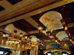 A cheesy ceiling at the Cheesecake Factory, Henderson