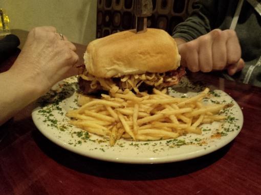 The Dam Big Burger