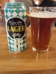 Local lager at Twisted Sistas'. Not to my taste though. A bit hoppy.