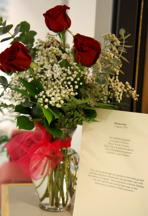 FCO - Minden Day roses received in 2010