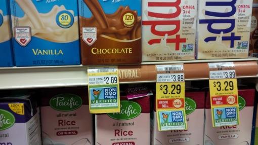 GMO? Not on my shelf!
