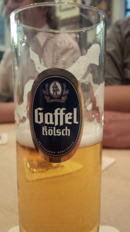 Kolsch from the Gaffel brewery