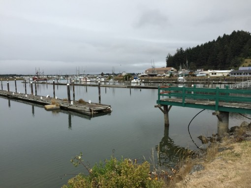 Winchester Bay... a sad, lonely place.
