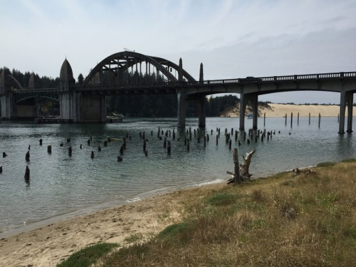 Siuslaw River Bridge, opened 1936