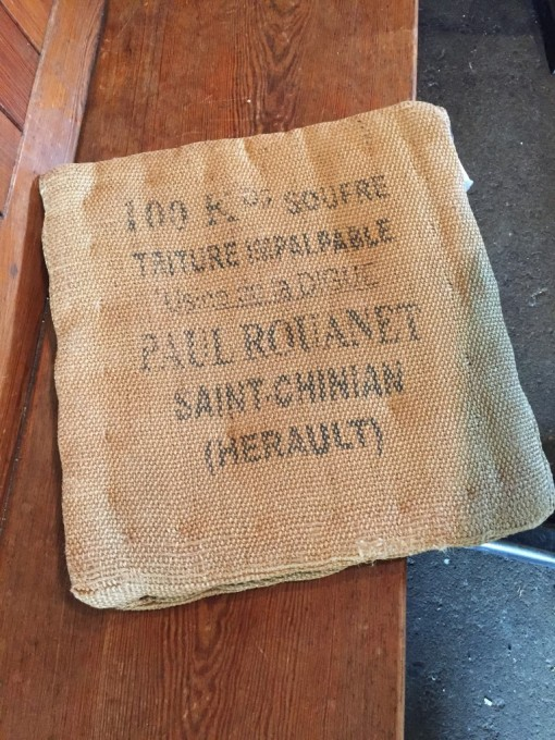 A sack from southern France, in Florence, in Oregon