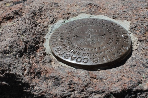 US Coast & Geodetic Survey marker at the top. 1932