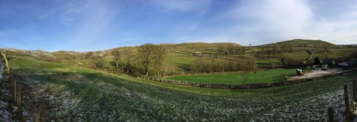 Panorama to the East and Shorkley Hill