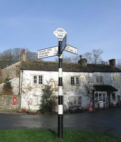 Fingerpost - Malham