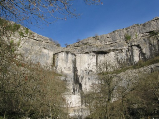 The foot of Malham Cove