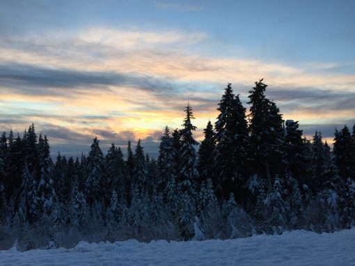 Sunset from Seymour